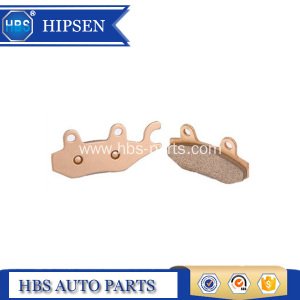 Sintered brake pads for honda