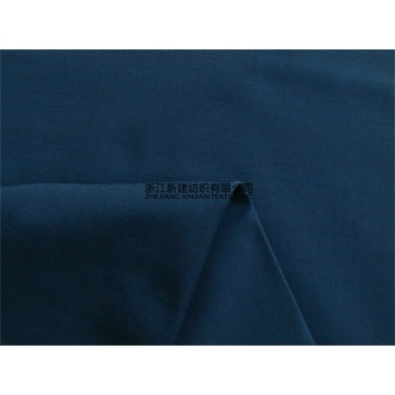 Navy Blue Nylon Cotton Rip-stop Uniform Fabric