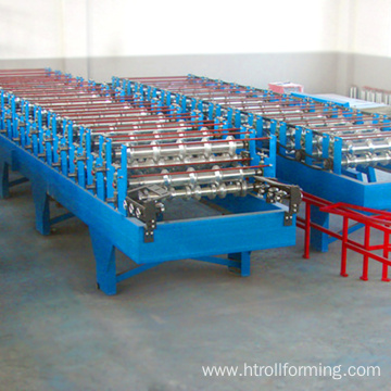 Metal sheet forming roof aluminium sandwich panel aluminum composite panel production line