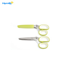 With 5 Stainless Steel Blades Herb Scissors