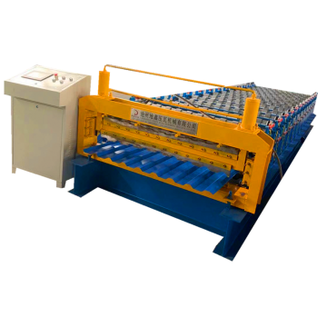 Making Building Material Double roll forming making machine