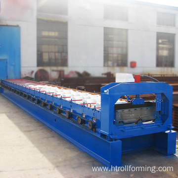 Excellent quality width 788mm joint hidden roll steel machine