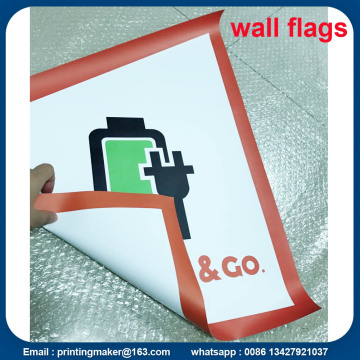 Custom PVC Wall Flags and Banners