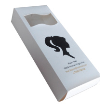 Custom High Quality Hair Extension Display Packaging Box