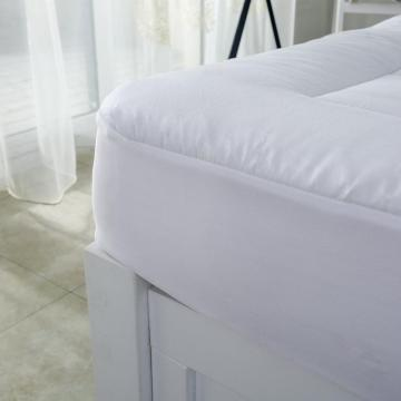 White Cotton Duck Down Hotel Home mattress topper