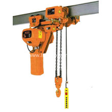 Factory Promotional for Best DHS Electric Chain Hoist,DHS Type Electric Hoist,DHS Endless Electric Chain Hoist,DHS Type Electric Chain Hoist for Sale High quality 1 ton chain electric  hoist supply to Portugal Factory