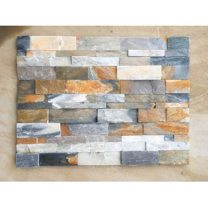 Colorful Natural Limestone Panel for outside wall