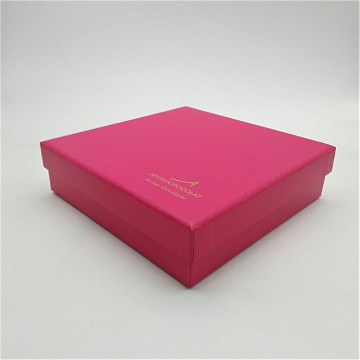 Custom Made Chocolate Box With Dividers And Pad