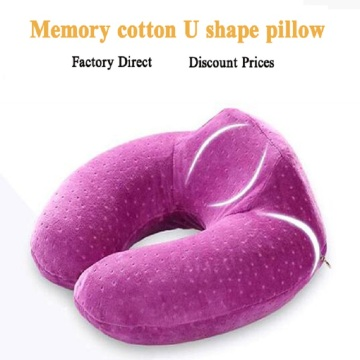 Memory foam soft neck support travel pillow