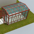 Terrarium House Tent Table Living Room Glass Veranda