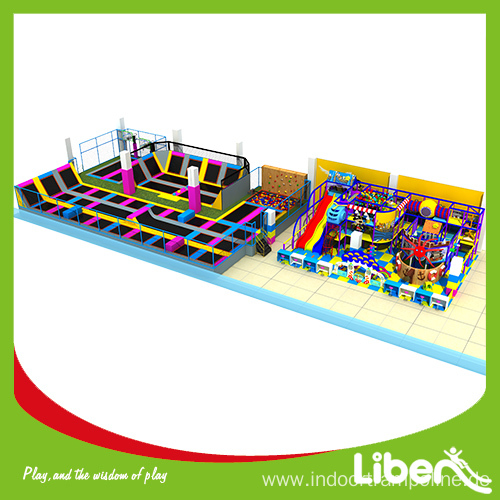 Professional new trampoline park design