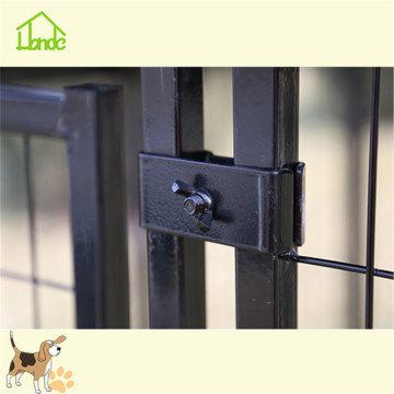 Square tube outside large animal kennels for sale