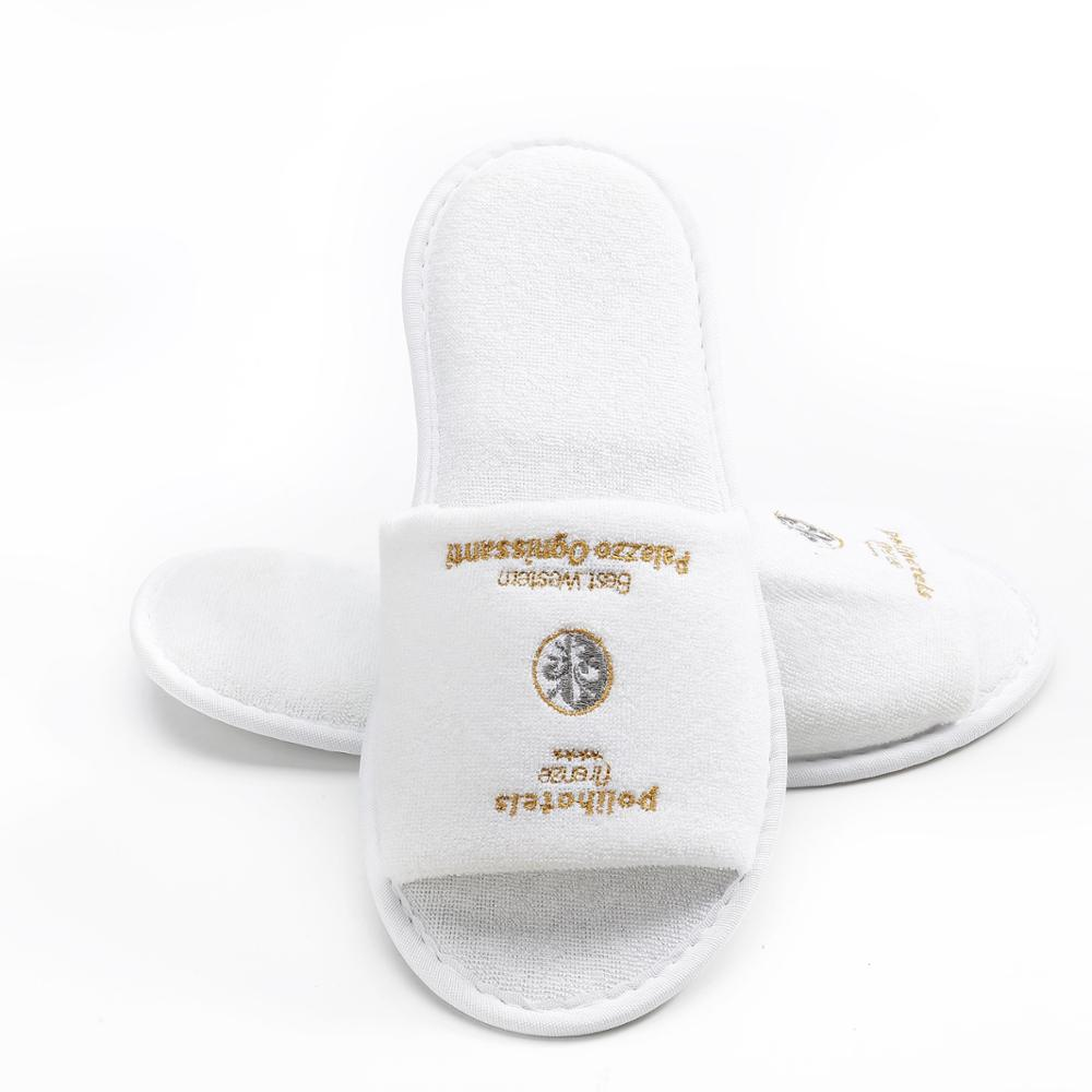 Stable quality materials cheap hotel room slippers