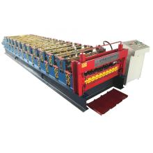Double layer roofing sheet sheet roll machine