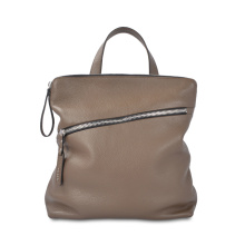 High Quality Casual Leather backpack For Young People