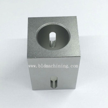 Machined Aluminum Parts with Clear Anodized Finish