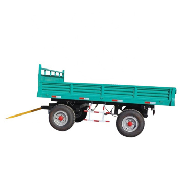Tractor hydraulic farm tractor tipping trailers