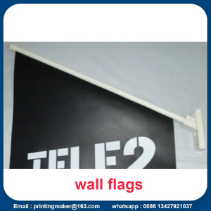 Double Sided Shop Front Flags with Bracket