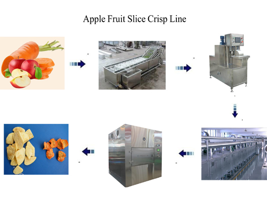Apple Crisp Vacuum Drying Machine