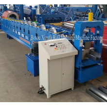 OEM manufacturer custom for Rain Spout Gutter Roll Forming Machine Canton Fair Aluminium Gutter Roll Forming Machine export to Singapore Importers