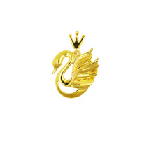 New Fashion Design for K Gold Pendant Swan Princess Pendant 18 K supply to Spain Supplier