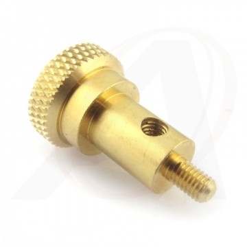 Hight Quality Knurled Brass Machining Parts
