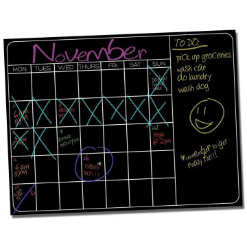 Lushleaf Designs Monthly Calendar