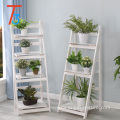 wooden shelves storage rack home decoration for plants