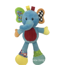 Rattle Elephant Teether Toy