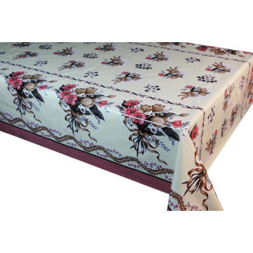 Drafting Elegant Tablecloth with Non woven backing