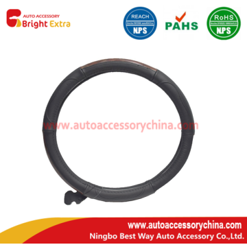 Quality for Leather Steering Wheel Wrap About Sew on Leather Steering Wheel Covers export to India Importers