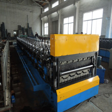 Manufacturing Companies for Double Layer Roll Forming Machine Roofing Tiles Corrugated Sheet Wall Panel Machine export to United States Manufacturers