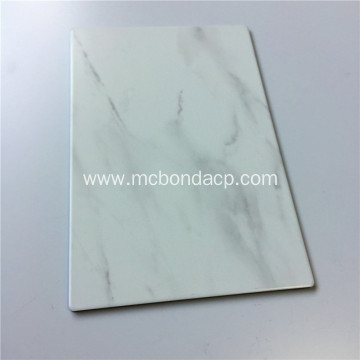 Selected Aluminum Composite Panel with Marble Finish ACP