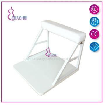 White Color Footrest For Pedicure Spa