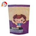 Colourful Kraft Paper Zipper Bag for Food