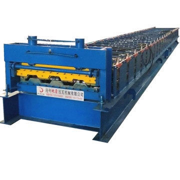Floor decking sheet tile plate roll forming machine