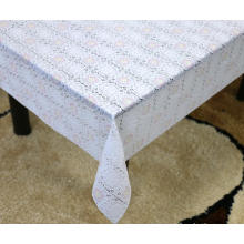 bulk Printed pvc lace tablecloth by roll