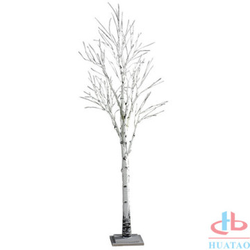 White Artificial Brich Tree