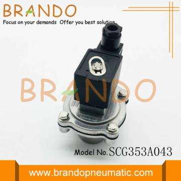 Black Color Asco type Dust Removal Valve SCG353A043