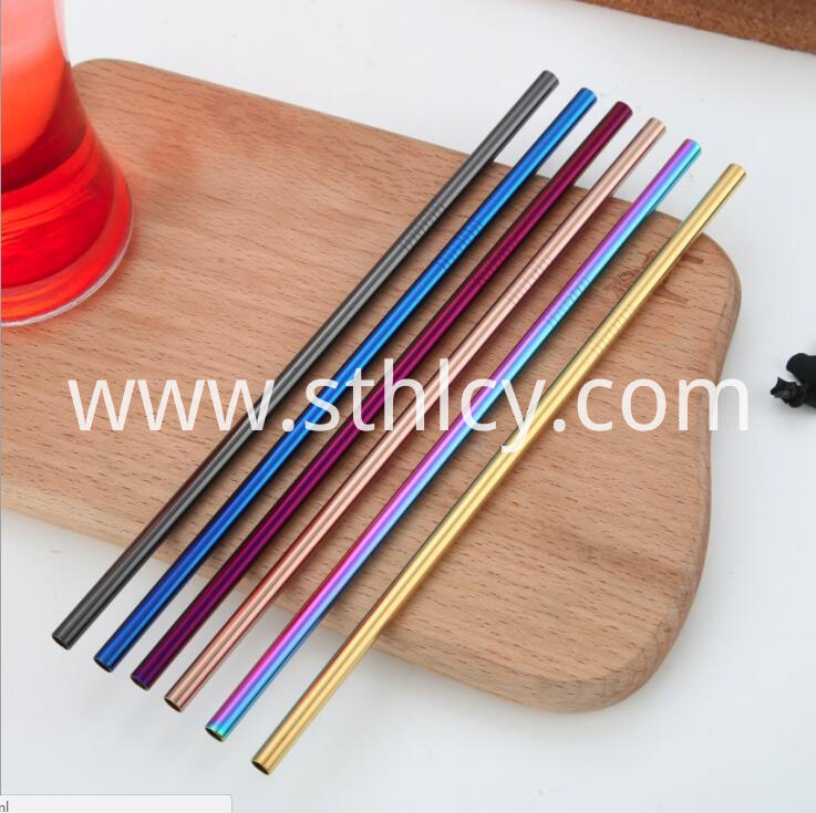 Drink Using Straw