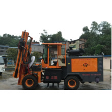Drilling and Dedusting Machine