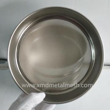 Stainless steel standard mesh size sieve