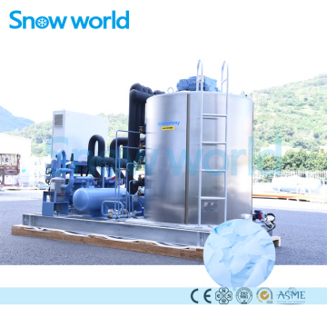 Snow world 15T Flake Ice Machine For Sale
