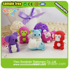 Animal stationery Eraser ,TPR eraser for kids