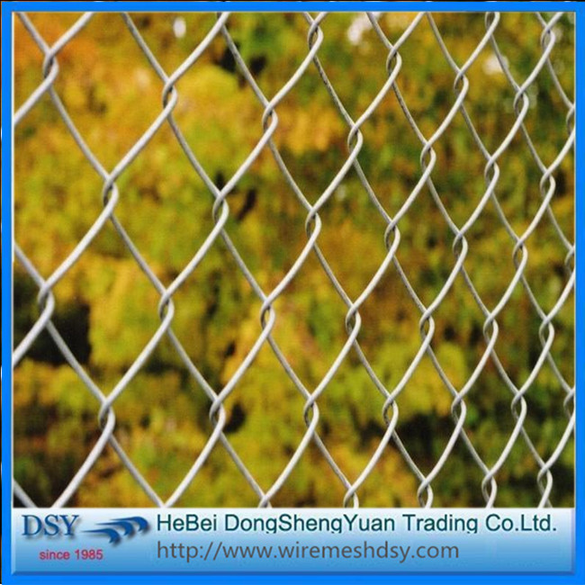 High Quality PVC Coat Chain Link Fence