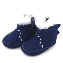 Winter Boot Leather Kids Shoes Baby Walking Boots