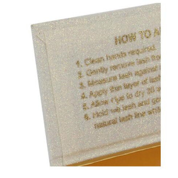 Beautiful Gift Cardboard Book Shape Eyelash Box