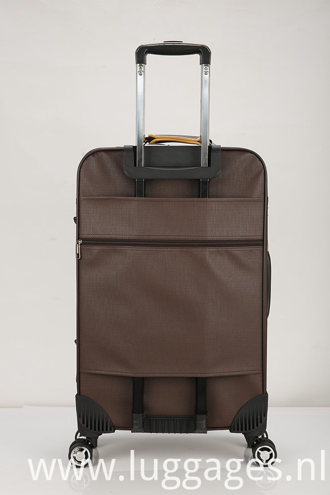 Oxford Cloth Boarding Luggage Trolley