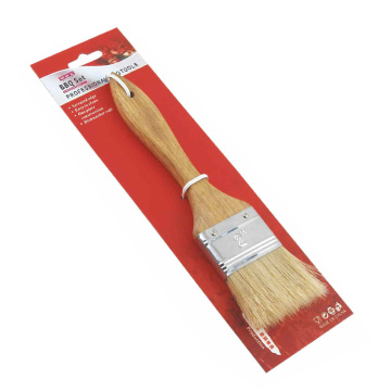 bbq wooden handle bbq grill basting brush