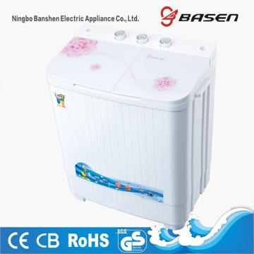 Pink Glass Cover 4KG Washing Machine